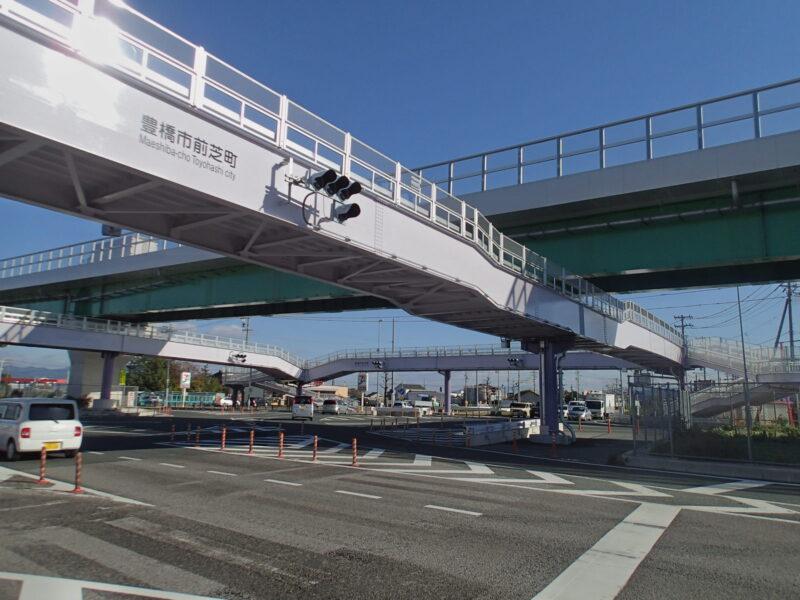 前芝インター歩道橋(愛知県)