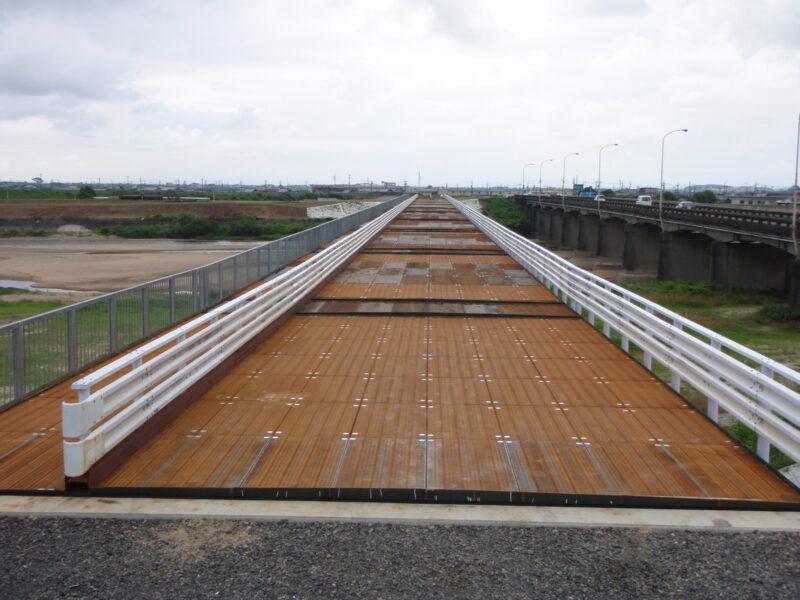 鈴鹿橋仮橋(三重県)