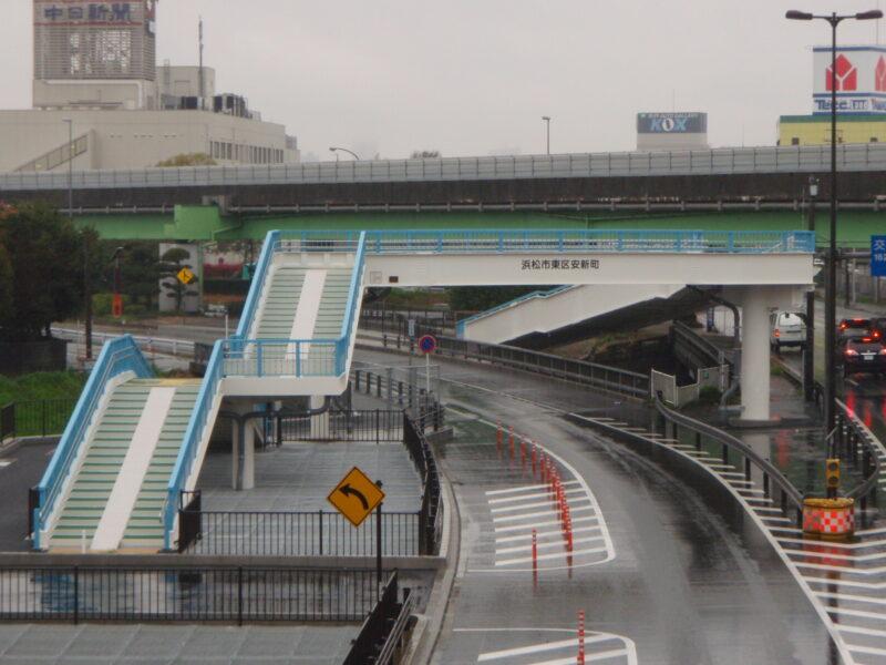 北島歩道橋(静岡県)