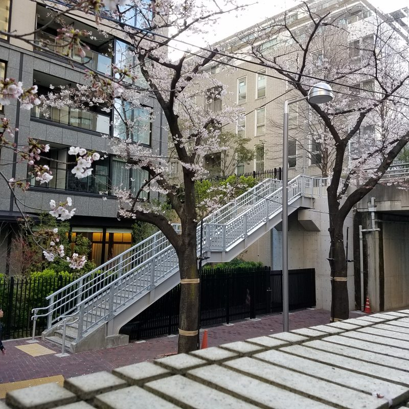 赤坂一丁目階段工事(東京都)
